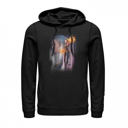 Captain Marvel Movie Character Men's Hoodie