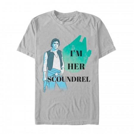 Star Wars Valentine Han Solo Your Scoundrel Men's T-Shirt