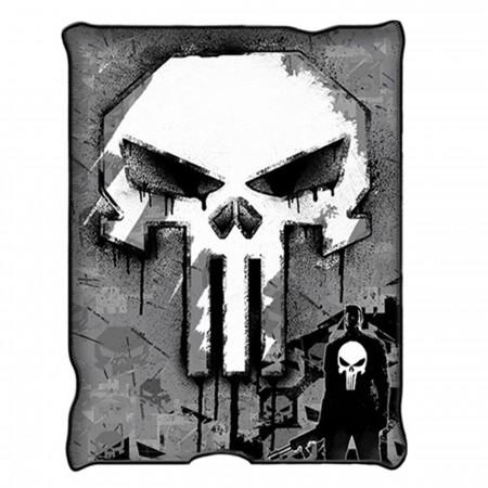 The Punisher Skull Micro-Plush Throw Blanket