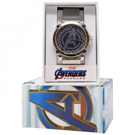 "Avengers Endgame Movie ""A"" Logo Watch"