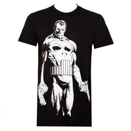 Punisher The Big Nothing Black Men's T-shirt