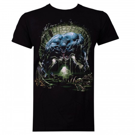 Venom Sewer Black Men's T-Shirt