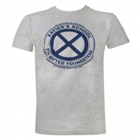 X-men Xavier's School Grey Men's T-Shirt