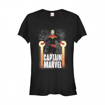 Captain Marvel In Flight Women's T-Shirt