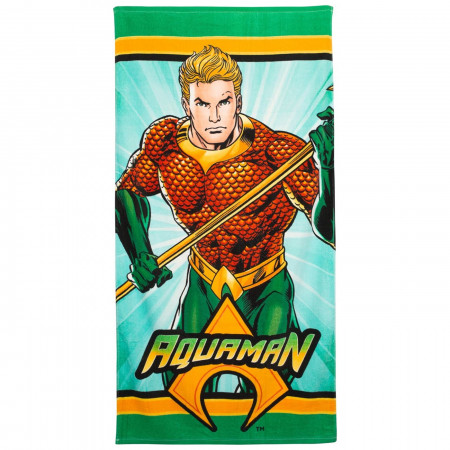 Aquaman 60x30 Beach Towel