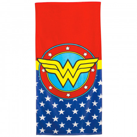 Wonder Woman Symbol 60x30 Beach Towel