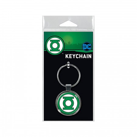Green Lantern Symbol Keychain