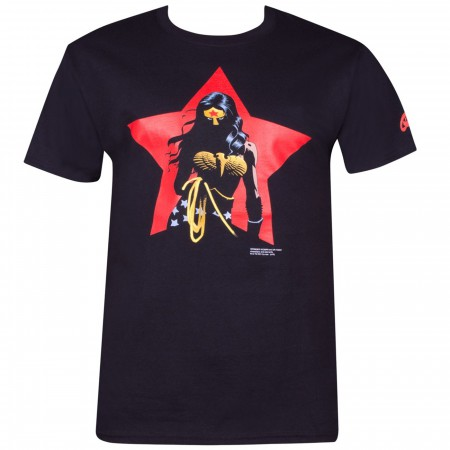 Wonder Woman Star by Eduardo Risso T-Shirt