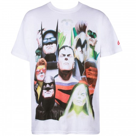 DC Kingdom Come Comic Men's T-shirt