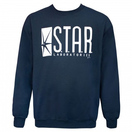 Star Laboratories Navy Crew Neck Sweatshirt