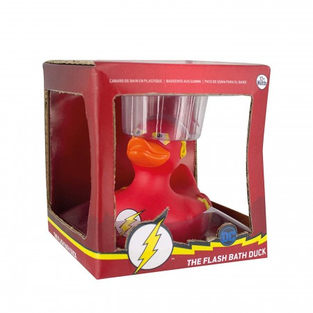 The Flash DC Comics Bath Duck