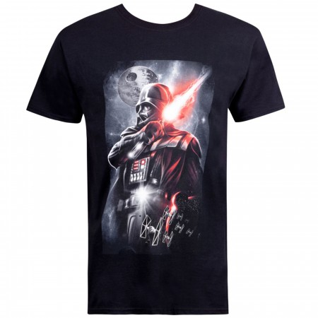 Star Wars Epic Darth Vader Black Men's T-Shirt