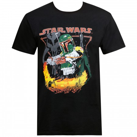 Star Wars Boba Fett Tatooine Men's T-Shirt