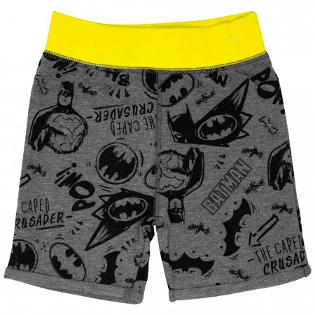 Batman Swinging Toddler Short Set