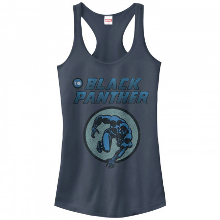 Black Panther Comic Circle Women's Tank Top