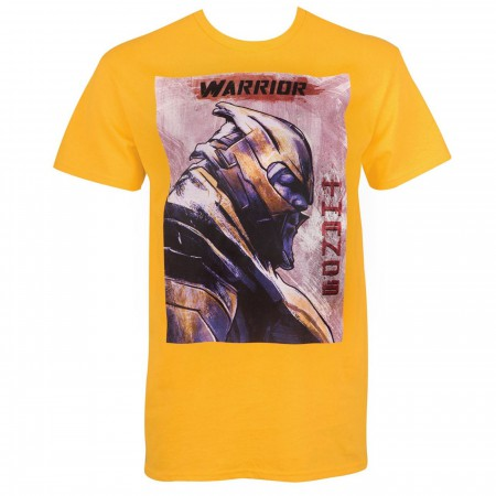 Thanos Warrior Profile Avengers Endgame Men's T-Shirt