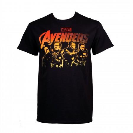 Avengers Endgame Original Heroes Lineup Men's T-Shirt