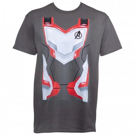 Avengers Endgame Quantum Armor Costume Men's T-Shirt