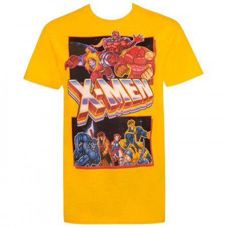 X-men Classic Arcade Game Lineup Men's-T-Shirt