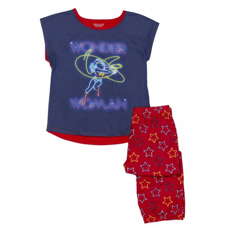 Wonder Woman 2-piece Youth Pajama Set
