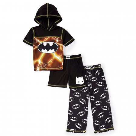 Batman 3-piece Youth Pajama Set