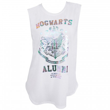 Harry Potter Hogwarts Alumni Rainbow Foil T-Shirt