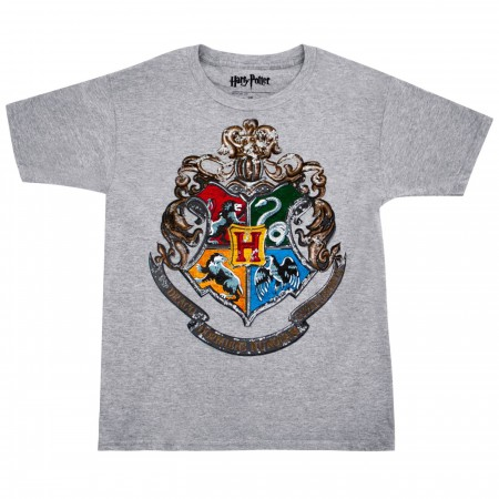 Harry Potter Hogwarts Crest Youth T-Shirt