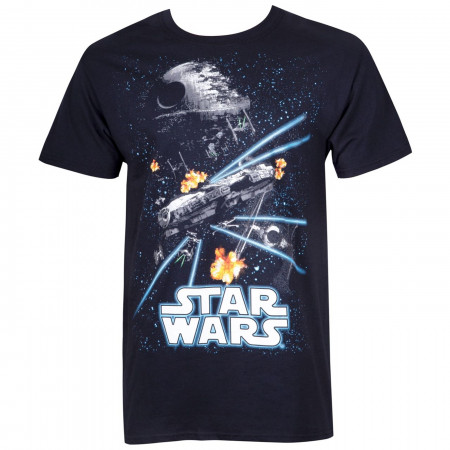 Star Wars Space Action Men's T-Shirt