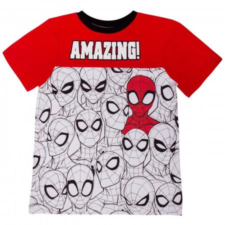 Spider-man Spliced Kids Short Set