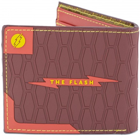 The Flash Icon Badge Rubber Wallet