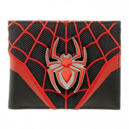 Spider-Man Miles Morales Bi-Fold Wallet