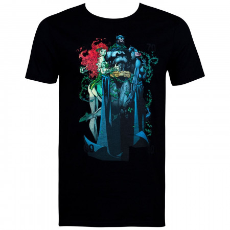 Batman Hush Poison Ivy and Catwoman  Group Shot Men's T-Shirt