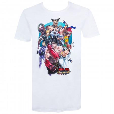 Tekken Short Sleeve White Men's T-Shirt
