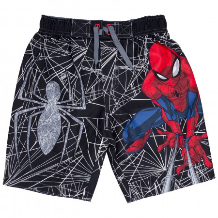 Spider-man Juvy Swim Trunks
