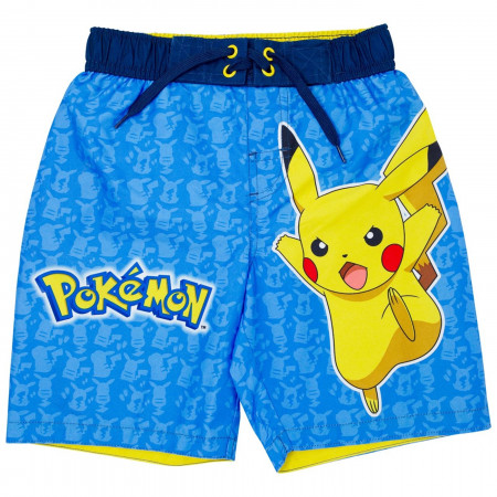 Pokeman Juvy Swim Trunks
