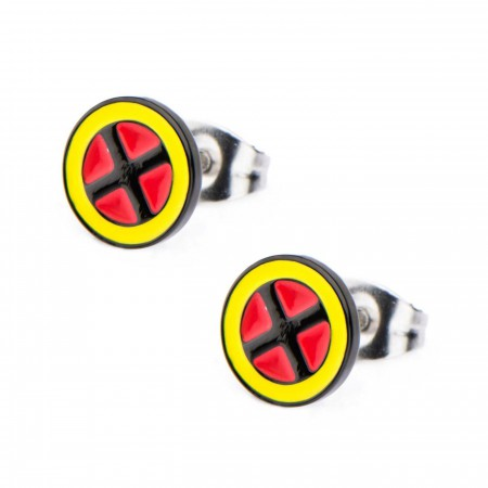 X-men Logo Stud Earrings