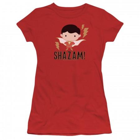 Shazam Movie Chibi Women's T-Shirt