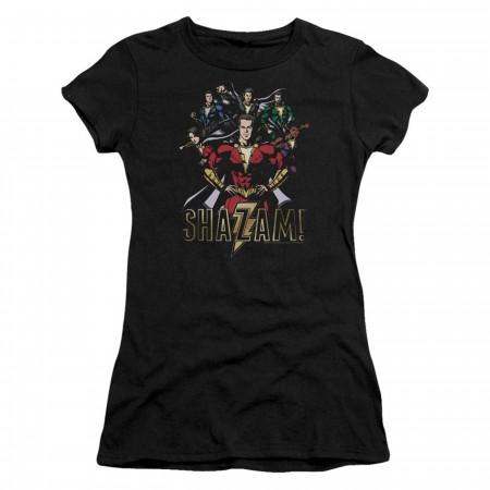 Shazam Movie Group of Heroes Women's T-Shirt