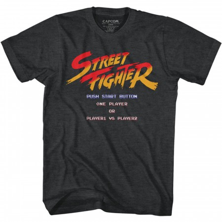 Street Fighter Start Screen T-Shirt