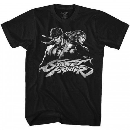 Street Fighter Ken and Ryu T-Shirt