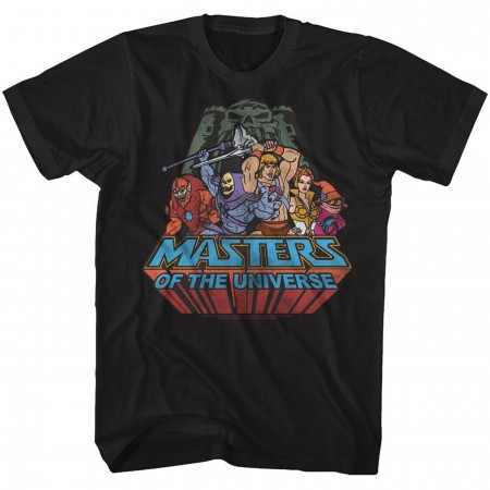 Masters of the Universe He-Man Heroes and Villains T-Shirt