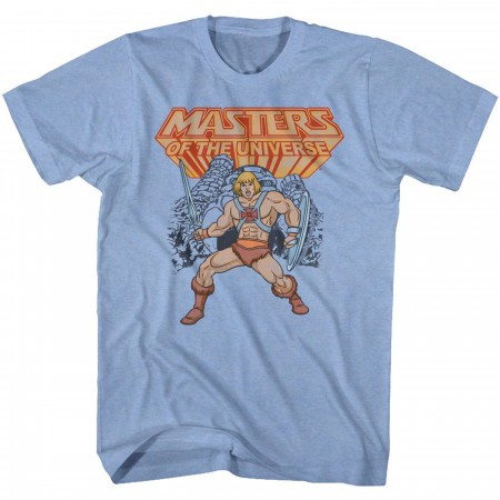 Masters of the Universe He-Man Ready for Battle T-Shirt