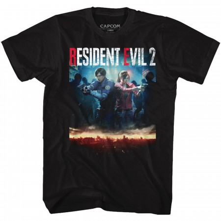 Resident Evil 2 Remake Cover T-Shirt