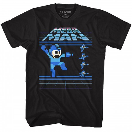 Mega Man Pixelated T-Shirt