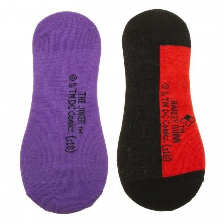 Harley Quinn & The Joker DC Comics Sock Liners