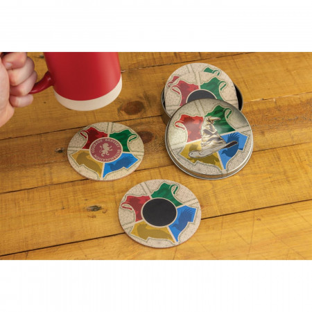 Sorting Hat Heat Change Coasters