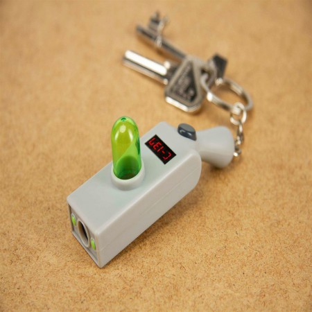 Rick and Morty Portal Gun Keychain
