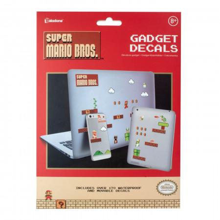 Super Mario Bros Gadget Decals