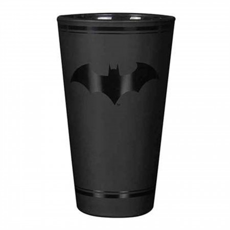 Batman Darktone Pint Glass