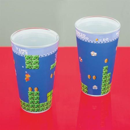 Super Mario Bros Glass